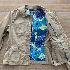 Ann Taylor Cotton Jacket Size M